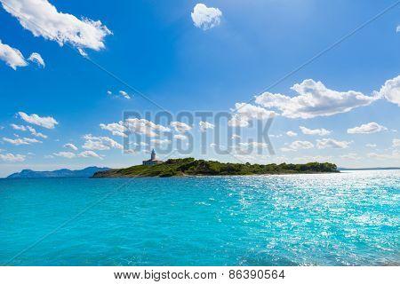 Platja de Alcudia Aucanada beach in Mallorca Majorca Balearic islands