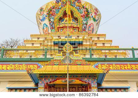 Salugara Monastery,Siliguri,West Bengal,India