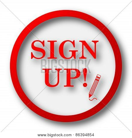 Sign Up Icon