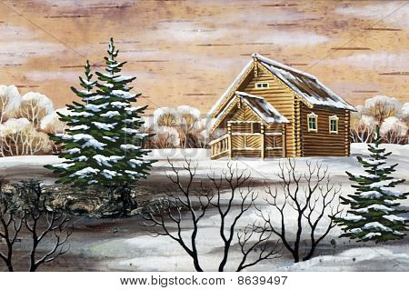 Small House In Wood