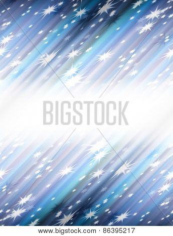 abstract background, blurred tender strips and stars