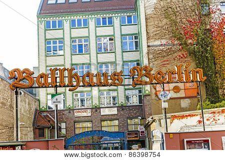Entrance View Of Famous Nostalgig Ballhaus Berlin
