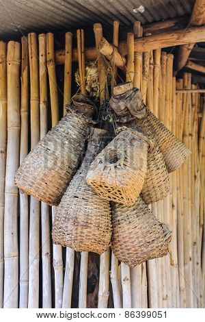 Bamboo Eel Trap Norther Thai Style