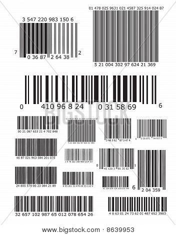 Lots of barcodes