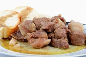 picture of bay leaf  - Pork cooked stewed with - JPG