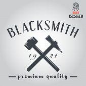 picture of blacksmith shop  - Logo for blacksmith - JPG