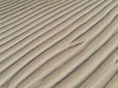 image of atlantic ocean beach  - Patterns at low water in the sand of the beach near Costa Calma on Fuerteventura - JPG