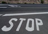 ������, ������: Stop for a priority road