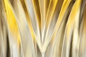 image of crystal glass  - Wavy curves of transparent crystal glass - JPG