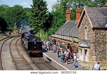 Highley Railway Station.