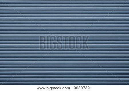 Grooved Texture For Backgrounds Of Dark Blue Color