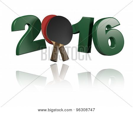 Table Tennis 2016 Design