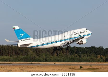 Boeing 747-400 Of The Kuwait Airways