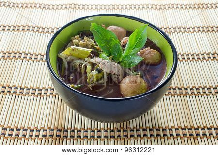 Noodle Of Traditional Thai Food
