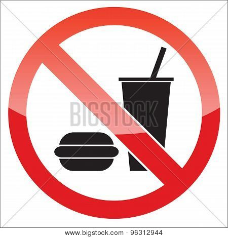 Food forbidden icon