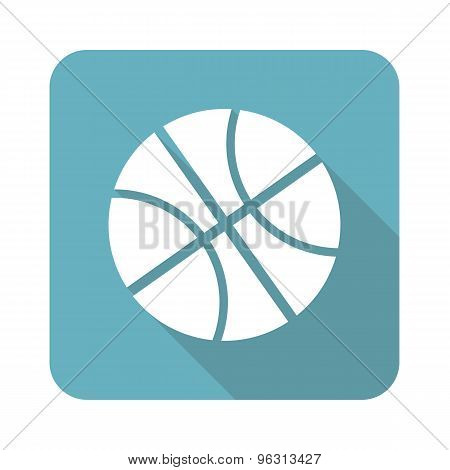 Square basketball icon