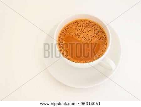 Hot Milk Tea In A Cup