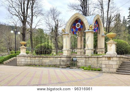 Kislovodsk. Glass Pavilion Stream. Built In 1895-1896 Years