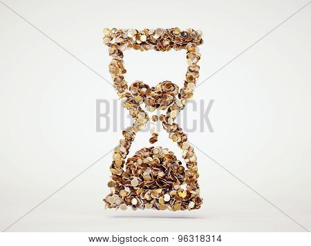 Money Hourglass Sign