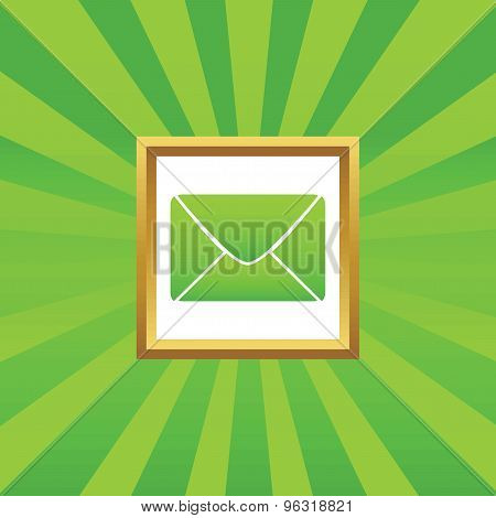 Letter picture icon