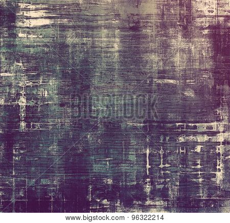 Rough grunge texture. With different color patterns: gray; blue; purple (violet)