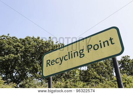 Recycling point.