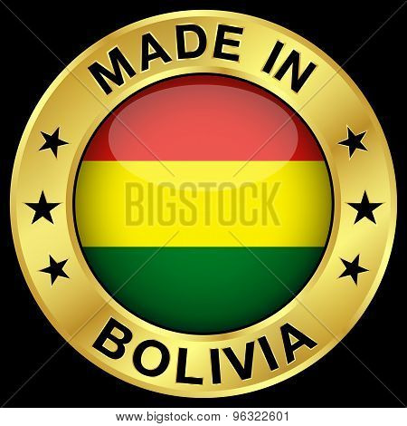 Bolivia Made In Badge