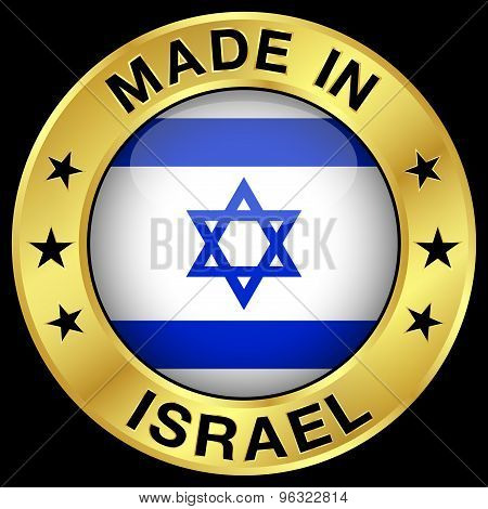 Israel Made In Badge