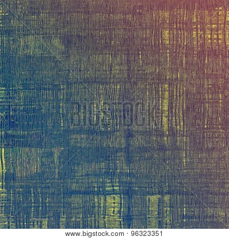 Abstract retro background or old-fashioned texture. With different color patterns: yellow (beige); brown; blue; purple (violet)