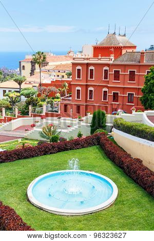 Botanical Garden In La Orotava Town, Tenerife, Canary Islands