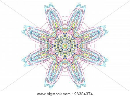 Abstract Color Pattern Shape