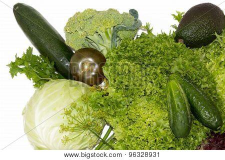 Green healthy vegetables