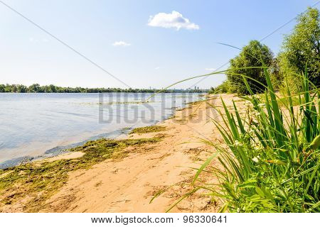 Dnieper River Beach
