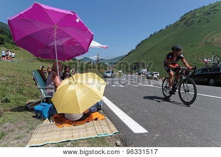 Waiting for the Tour de France