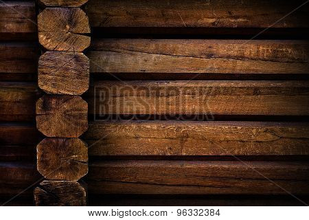 background wooden wall