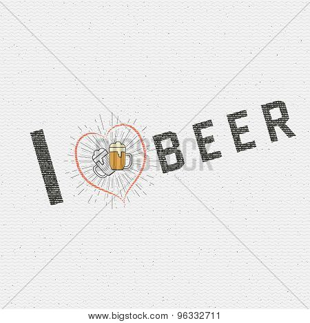 I love beer badges logos and labels for any use