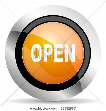 open orange icon