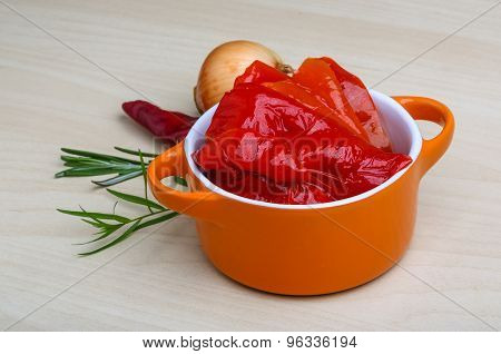 Marinated Red Pepper