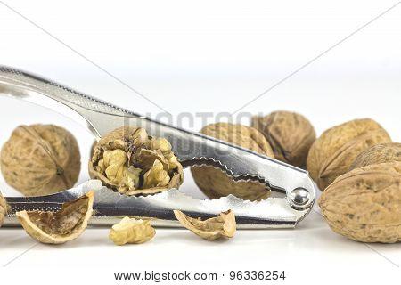 Nutcracker with walnuts