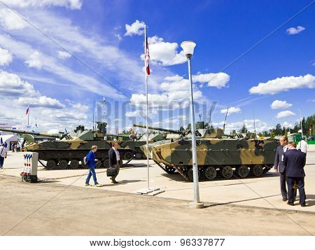 Military equipment in the international forum