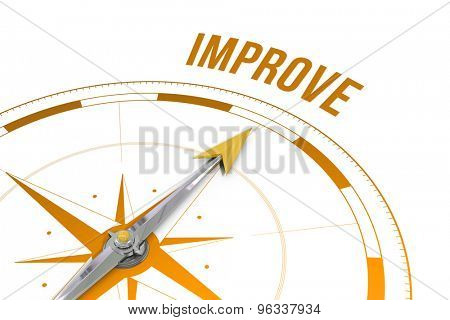 The word improve against compass