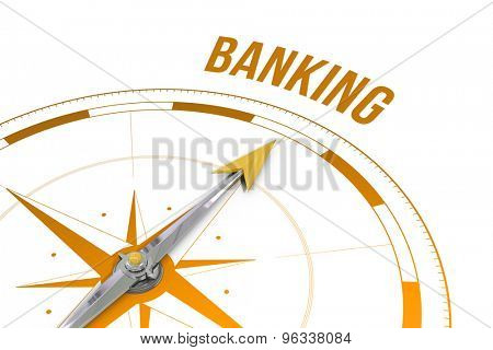 The word banking against compass