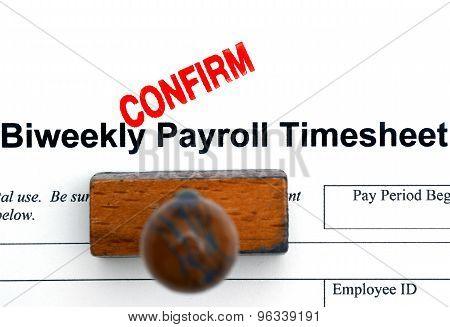 Payroll Timesheet