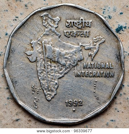 Indian coins representing / depicting the