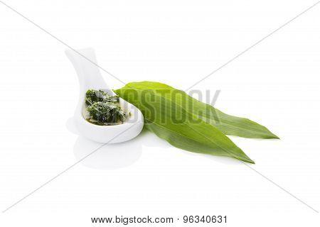 Wild Garlic Pesto, Spring Detox.