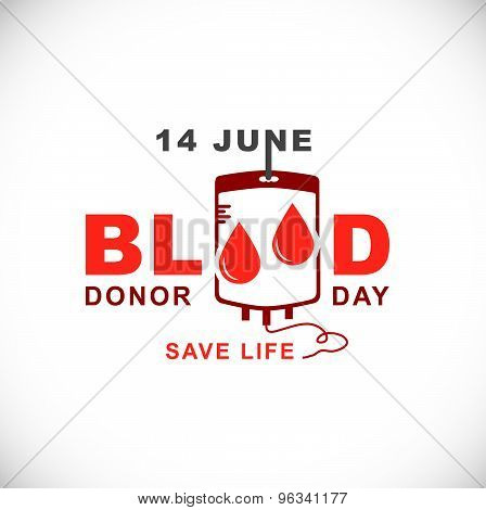 World Blood Donor Day.14 June