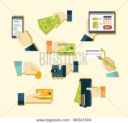 Various Methods of Payment