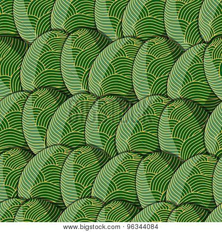 Egg Line Pattern
