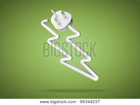 Concept For How We Rely On Electricity To Power Our Electrical Appliances And Devices.