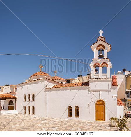 Lerapetra Church Square Pano
